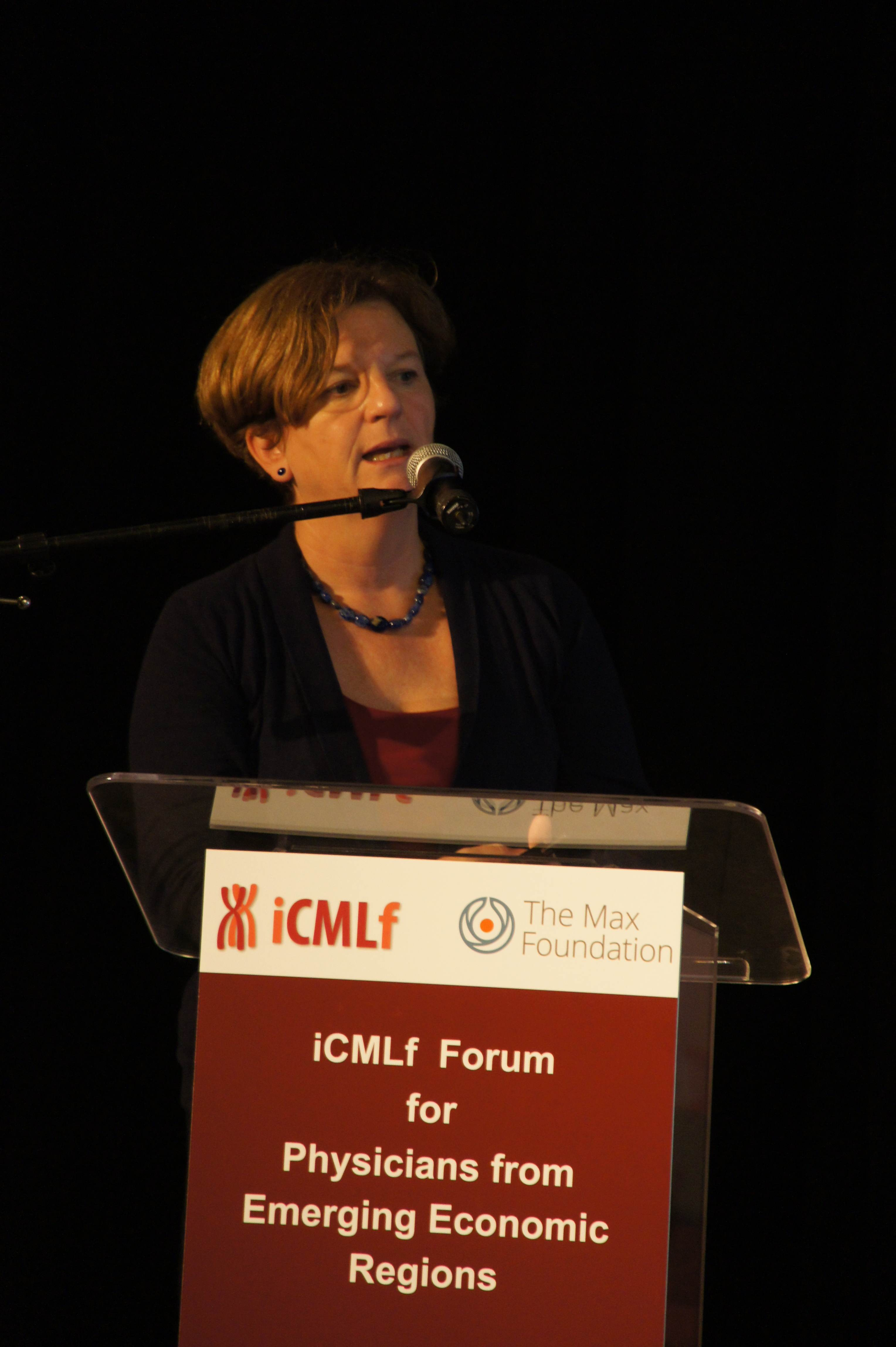 iCMLf Forum 2014 Jane Apperley