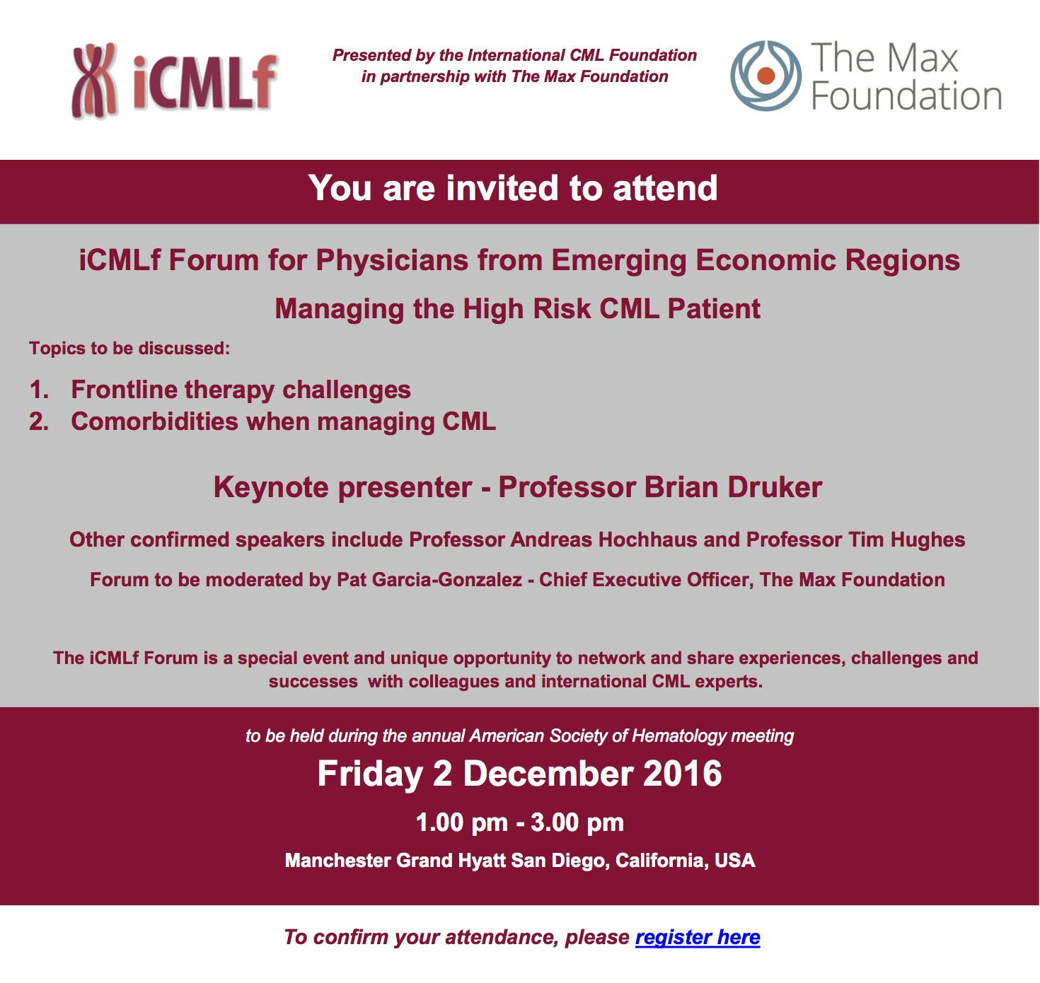 iCMLf Forum invitation 28Oct