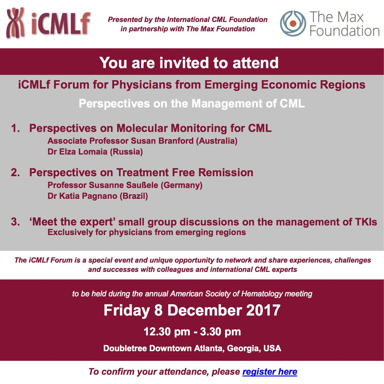 iCMLf Forum invitation full cover
